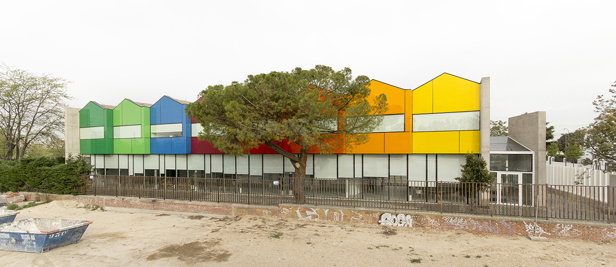 FUNDACIÓN ESTHER KOPLOWITZ en Madrid, del estudio de arquitectura Hans Abaton