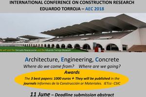 Congreso: International Conference on Construction Research / Eduardo Torroja - Madrid